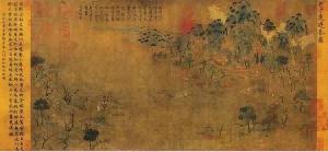 中国最早的山水画《游春图》