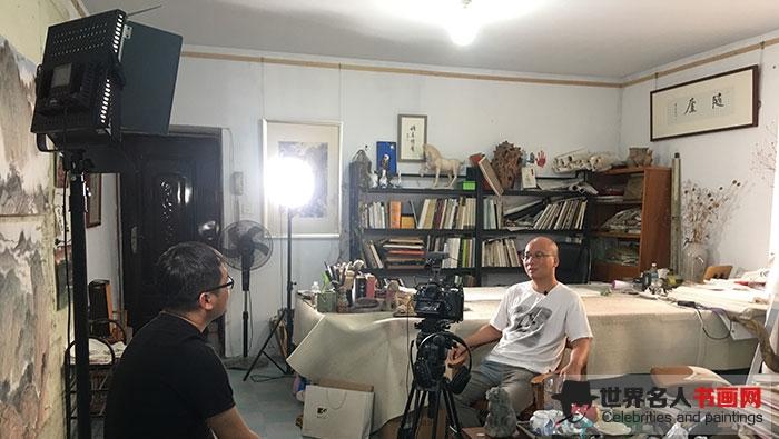 清华大学美术学院在读博士温中良接受专访