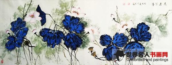 长安书画家,画家徐香梅,画家,花鸟画画家