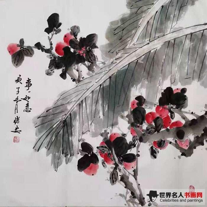 著名画家田绪安教授 风从军中来 国画动人心